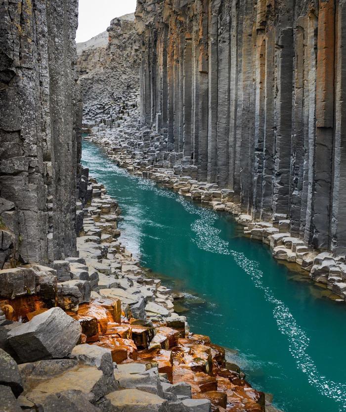 Базальтовый каньон, Исландия