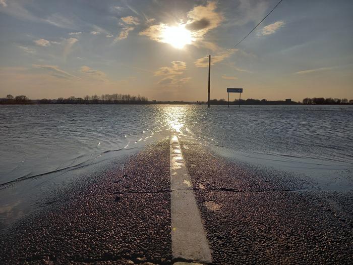 Разлив на реке Ока. 17.04.21