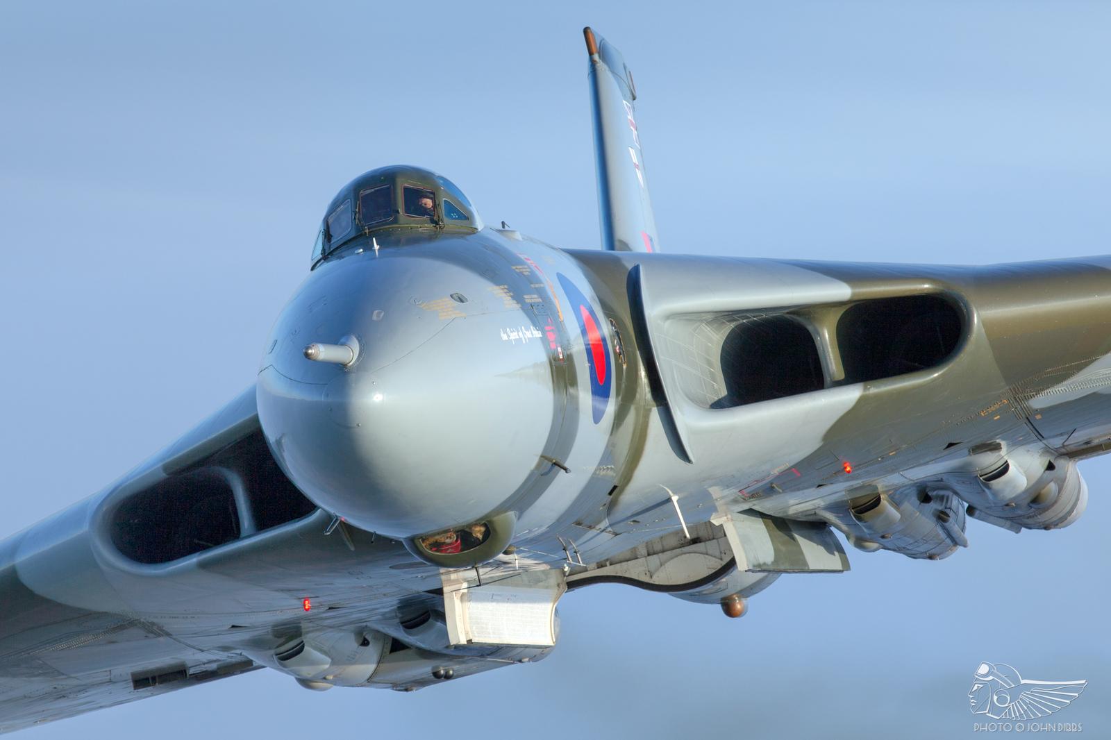 Обои Vulcan, Самолёт, bomber. Авиация foto 18