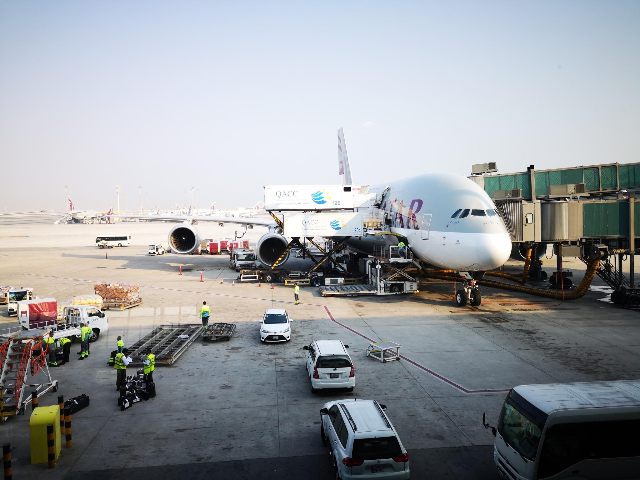Обои авиалайнер, пассажирский, боинг, катар, 777, 300, boeing, qatar. Авиация foto 19