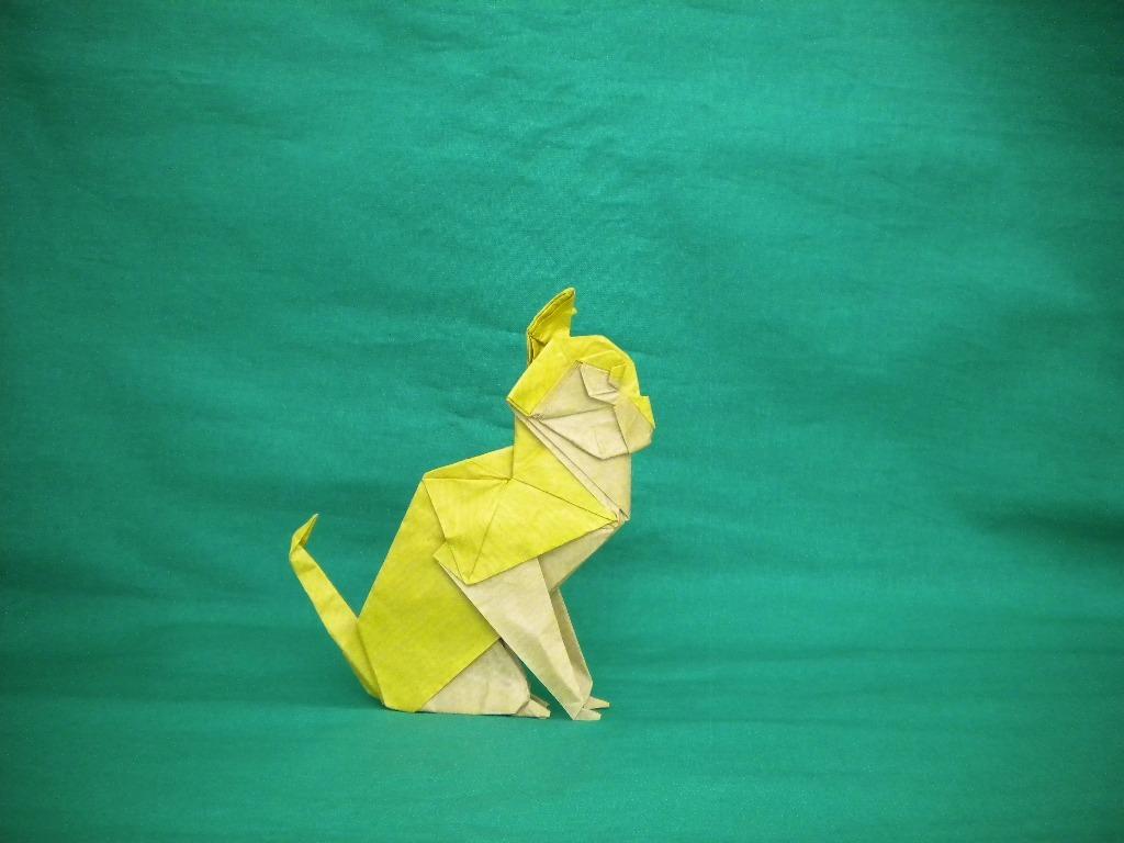 Обои Белка, Origami, бумага. Разное foto 12