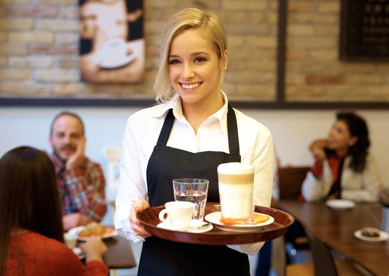 Работа официант для девушек заработать онлайн хабаровск