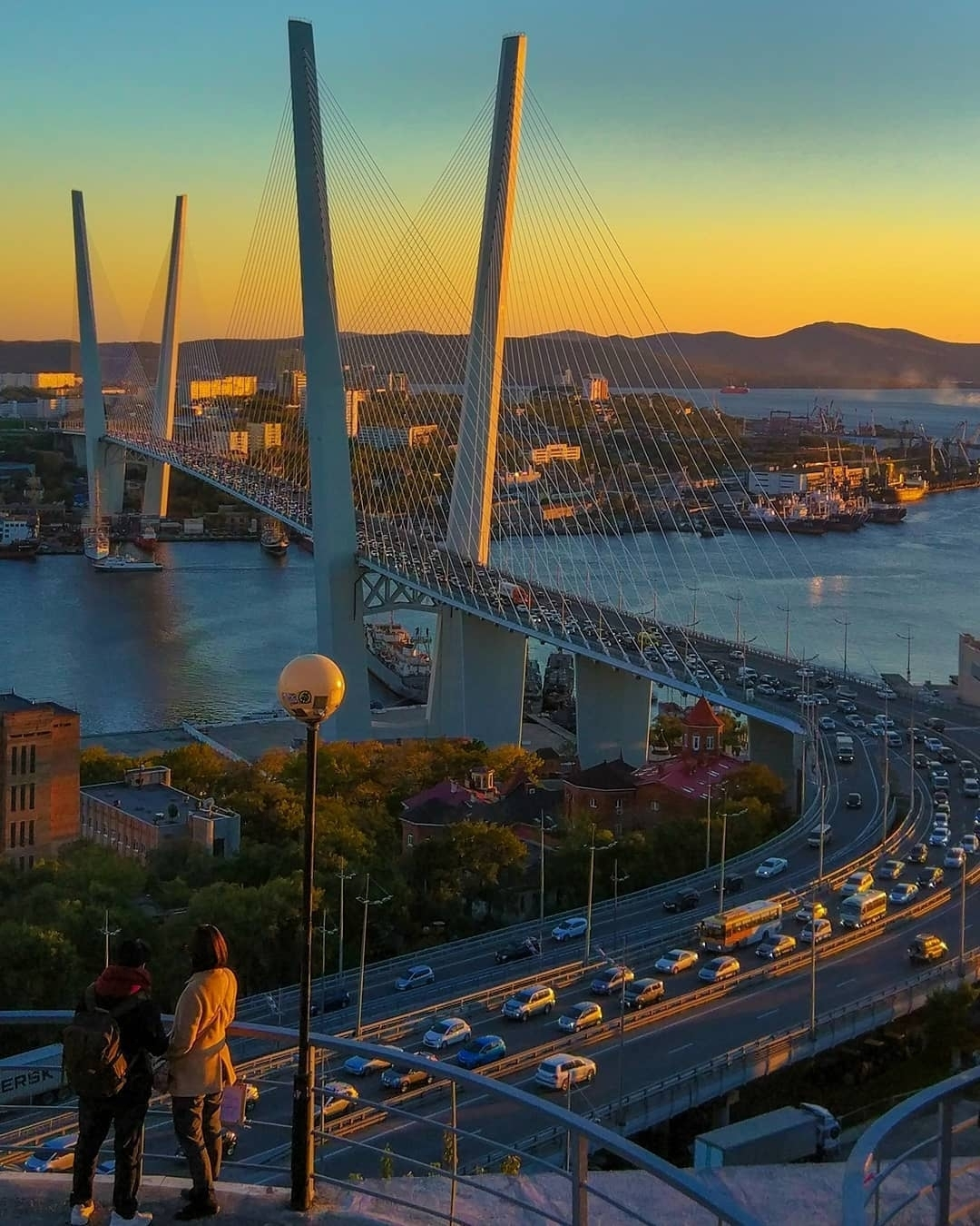 Обои дорожки, Корабли, Владивосток, сопки, дома, россия. Города foto 8
