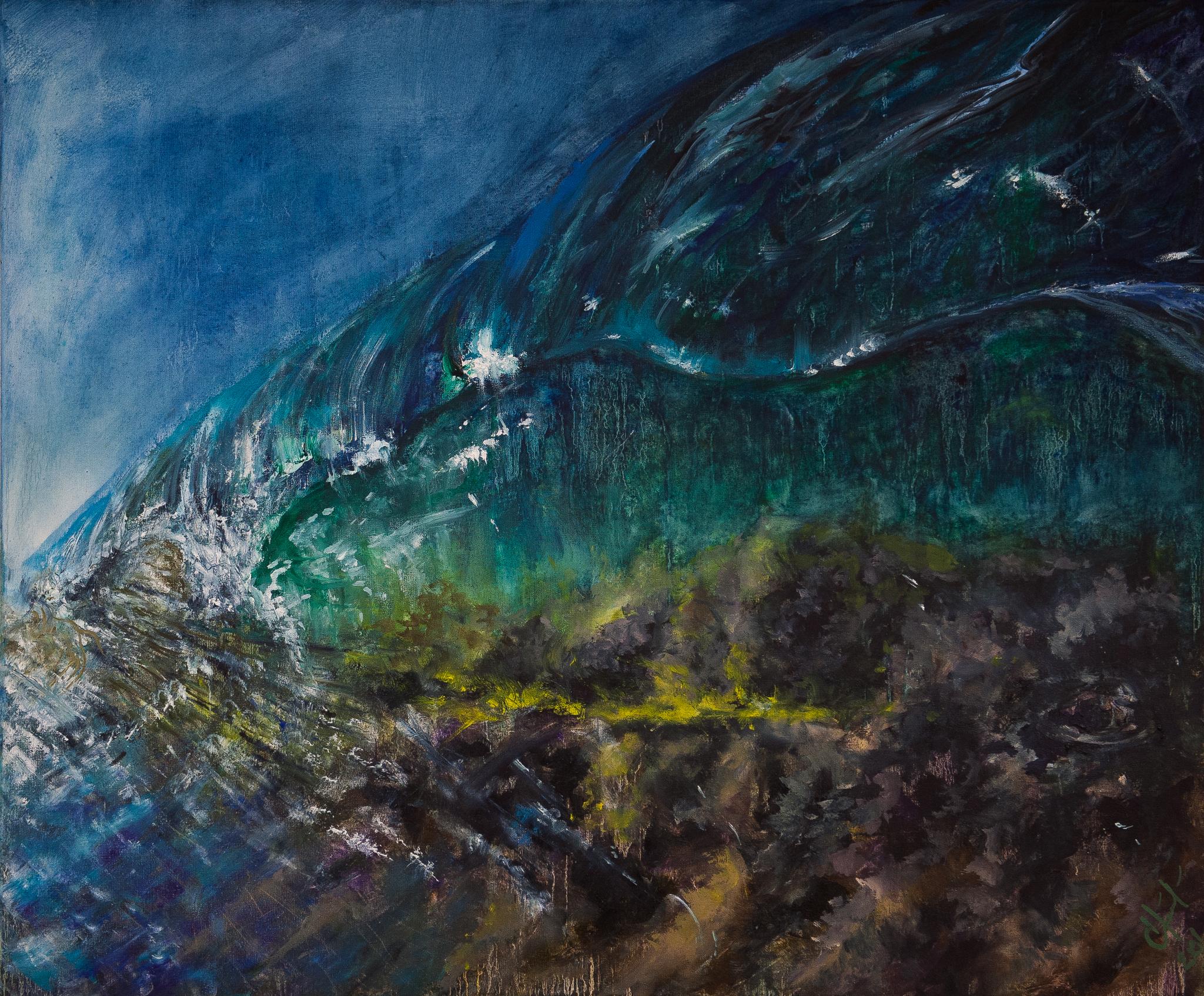 Обои Пейзаж с Грозой, картина, дома, Клод Моне, лодка. Разное foto 10