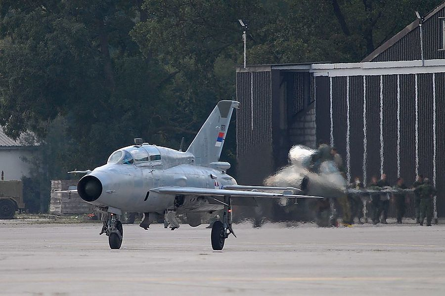 В Сербии потерпел крушение последний построенный в СССР истребитель МиГ-21