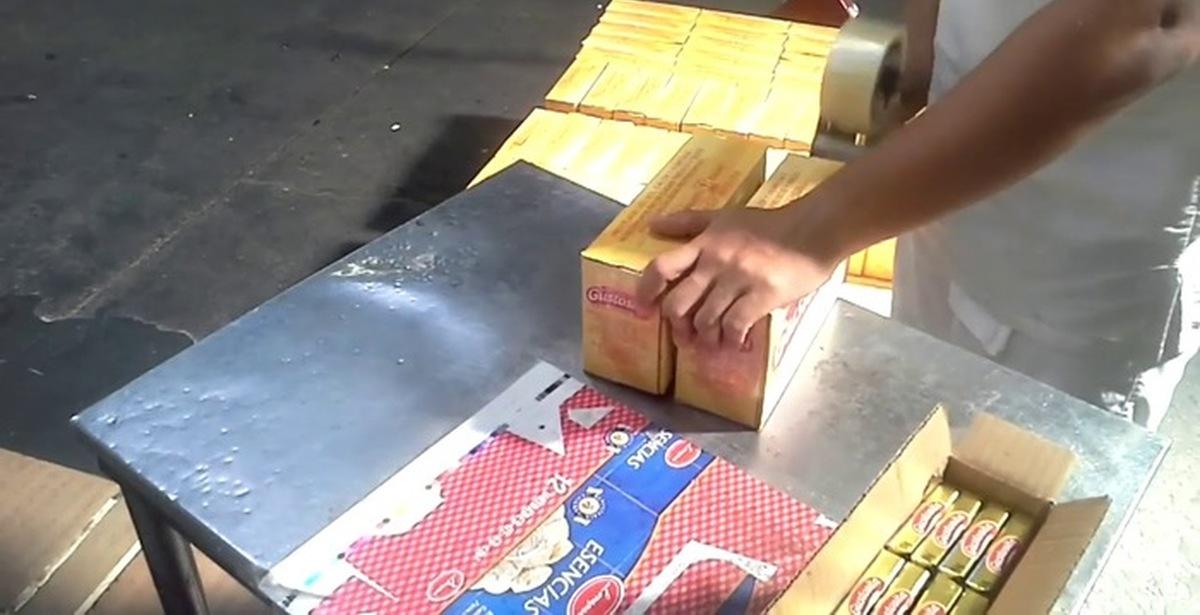 на фасовку 1 пачки масла на конвейере уходит 6 секунд